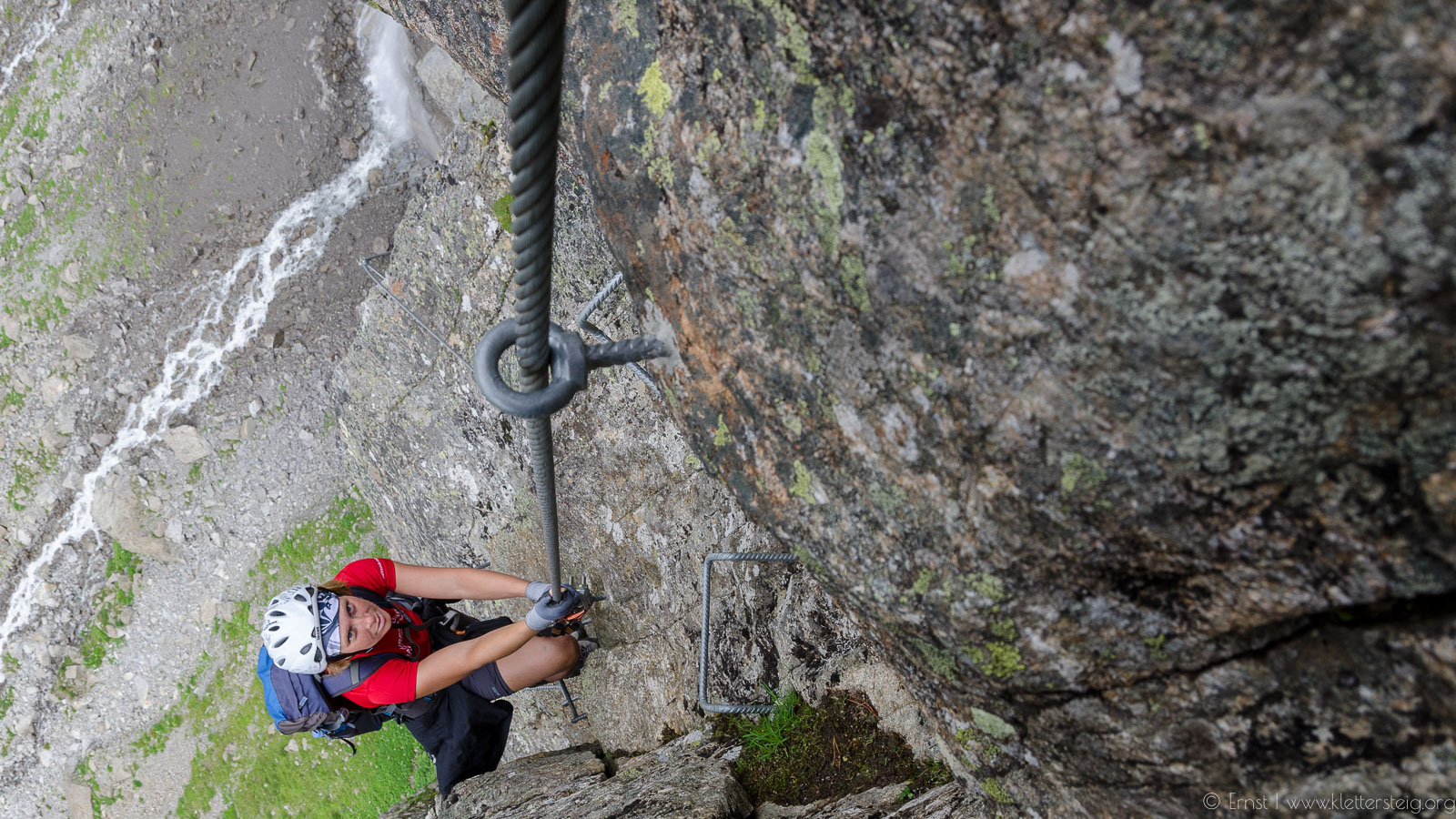Klettersteig Zirbenwald : Anton renk klettersteig fendels tirol
